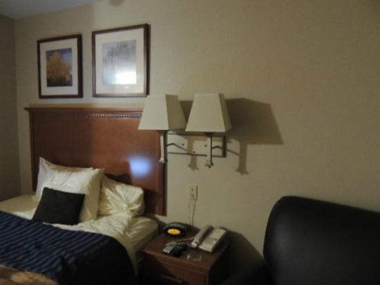 Candlewood Suites: 1 queen suite