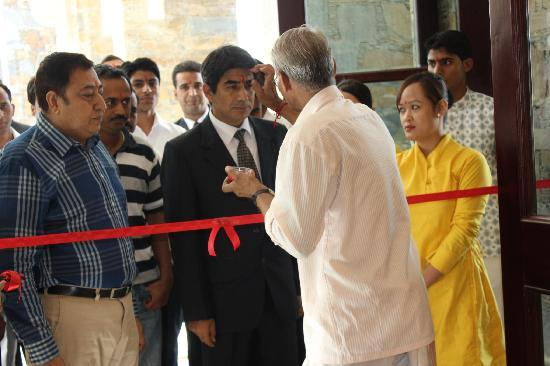 Ramada Udaipur Resort & Spa: inaguration of the lobby