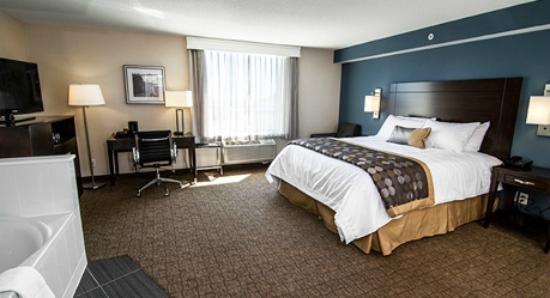Wyndham Garden Niagara Falls Fallsview: My king suite