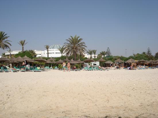 Hasdrubal Thalassa Hotel & Spa Port El Kantaoui: Plage