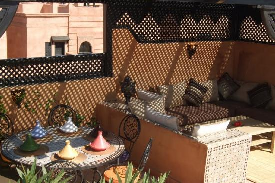 Atlas Golf Resort Marrakech : Terrasse
