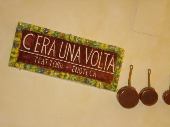 Ristorante C'era Una Volta: le meilleur est dans l'assiette