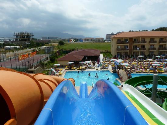 Eftalia Holiday Village: Stora vattenrutschen