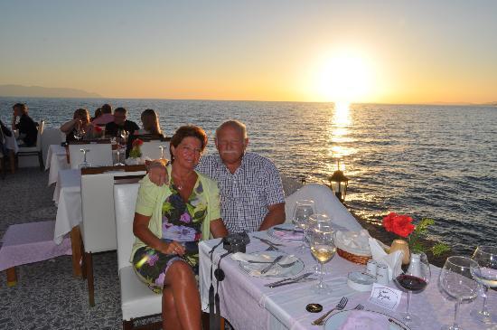 Kustur Club Holiday Village: Souper en amoureux au restaurant panoramique