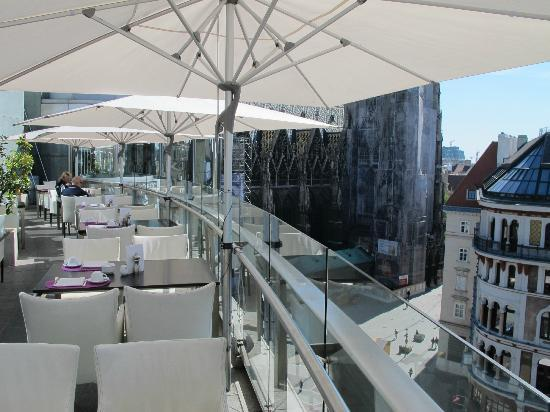 foto de do co hotel vienna viena terrasse tripadvisor. Black Bedroom Furniture Sets. Home Design Ideas