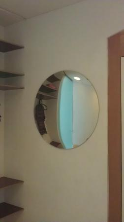 smartloft: The mirror in our room.