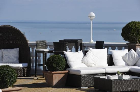 Hotel Italia Palace: Terrazza