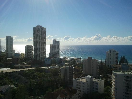 Crowne Plaza Surfers Paradise: View from my room