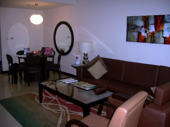 Flora Park Deluxe Hotel Apartments: Lounge Dining area in apartment