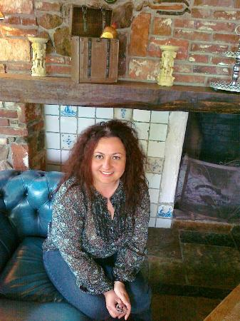 Braams Hotel Restaurant: Lovely afternoon spent in front of the fireplace