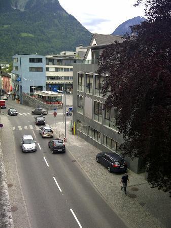 Hotel Herzog Friedrich: Der Blick vom Fenster des Zimmers