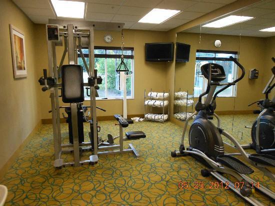 Comfort Suites Dothan: Fitness room.