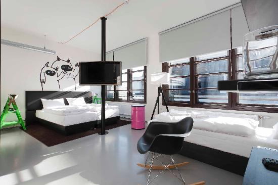 Fusion Hotel Prague: Triple room