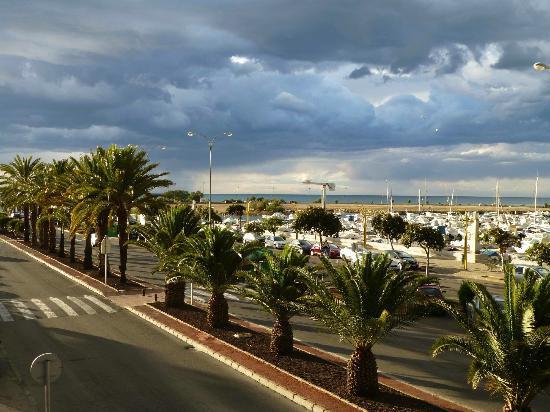 Hotel El Raset: vue depuis la chambre