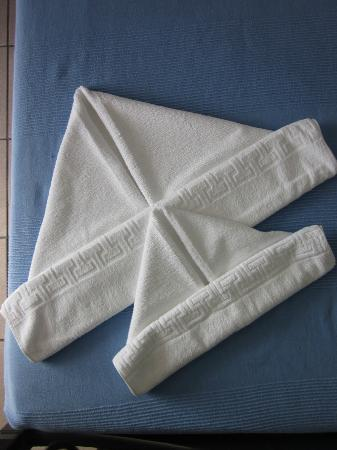 Dilion Hotel: Boat towels