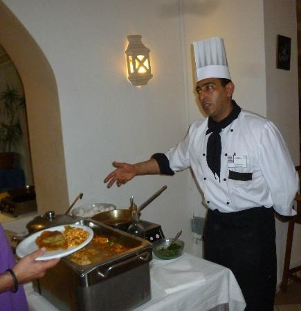 Hotel Meninx: repas du soir