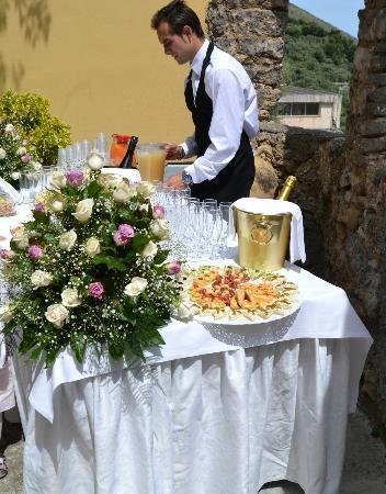 Ristorante Casale Villarena: buffet!