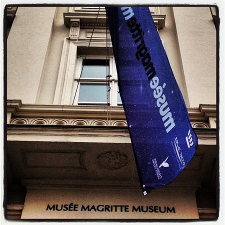 Musee Magritte Museum - Royal Museums of Fine Arts of Belgium : l entrée