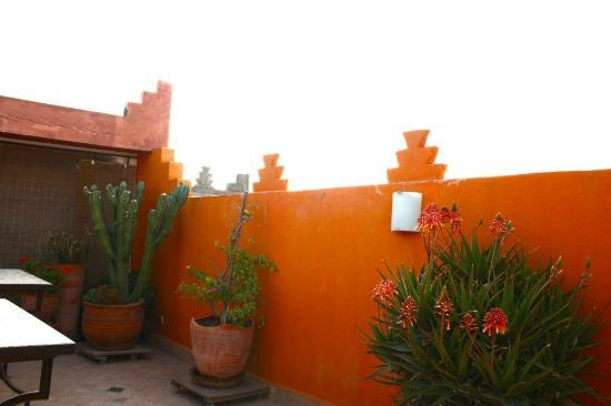 Riad Khabia : rooftop- perfect for breakfast!