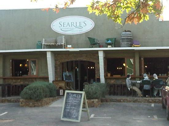 Searle's Trading Post: The inviting entrance! Note the quirky