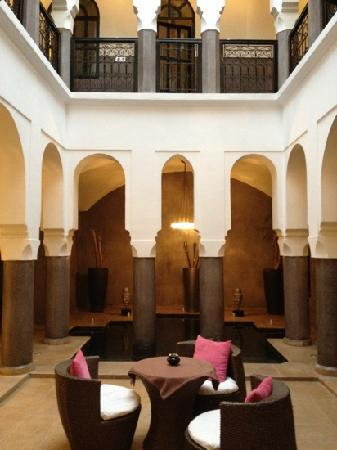 Riad Carllian : le patio