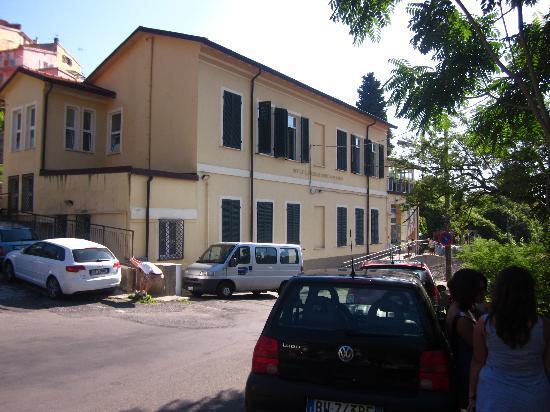 Ostello Tramonti : Hostel, von Aussen