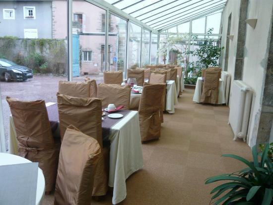 Hotel des Cymaises : Frühstücksraum