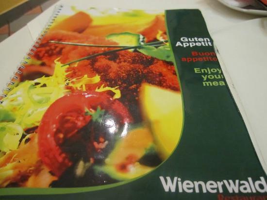 Wienerwald Restaurants Gmbh: Menu Card