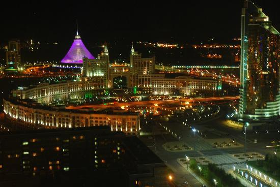 Apart Hotel Northern Lights: View of Khan Shaytr from 31st floor