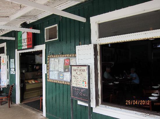 Pizzetta: The front door