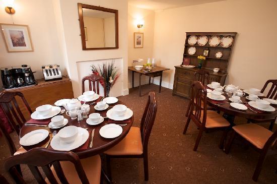 Longhill Farm B&B : The Breakfast Room