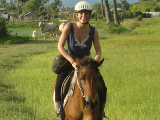 The Mekong Bed & Breakfast: Horse Riding Nearby