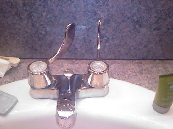 The Avalon Hotel and Conference Center: Backwards Faucet