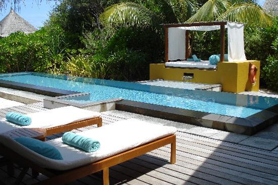 Four Seasons Resort Maldives at Landaa Giraavaru: our beach villa with pool