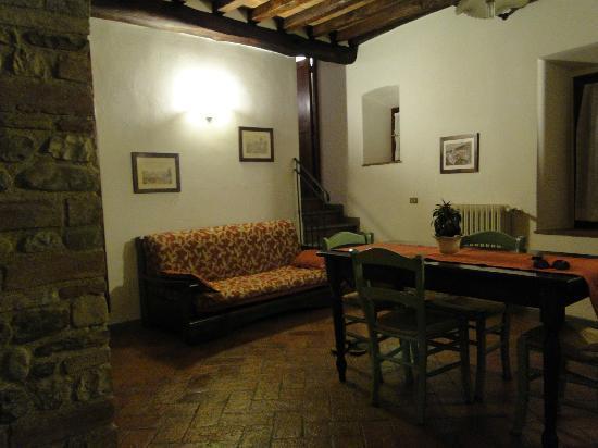 Villa Le Torri: Our Living Room