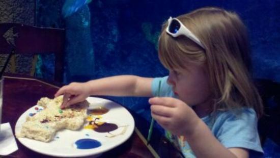 The Paint Sharky dessert