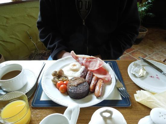 Cappabhaile House: Full Irish Breakfast