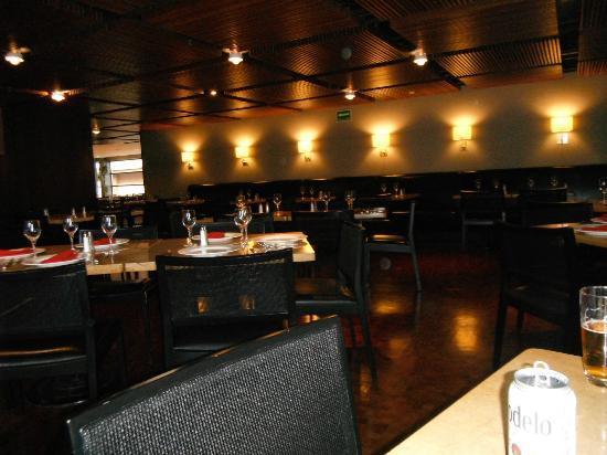 Hilton Mexico City Reforma: restaurant Los dones, muy recomendable