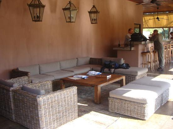 Honeyguide Tented Safari Camps: Lounge area
