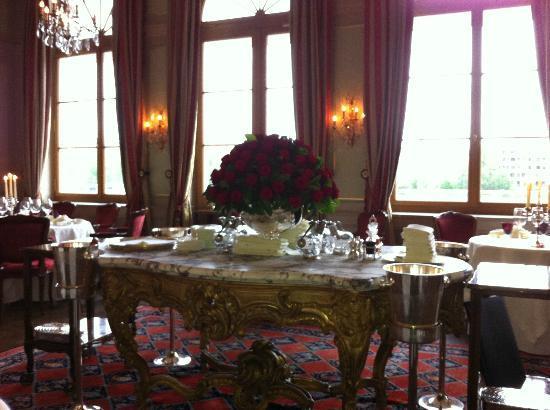 Cheval Blanc by Peter Knogl : im Restaurant