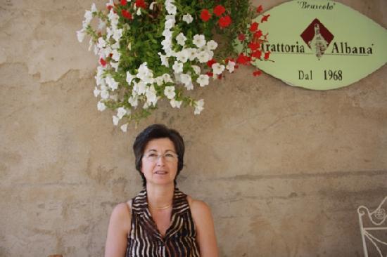 Trattoria Albana: A tavola in piazzetta