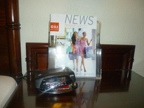 هوتل ريو بامبو: los artefactos de la habitacion rotos 