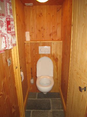 Le Moulin : WC séparés