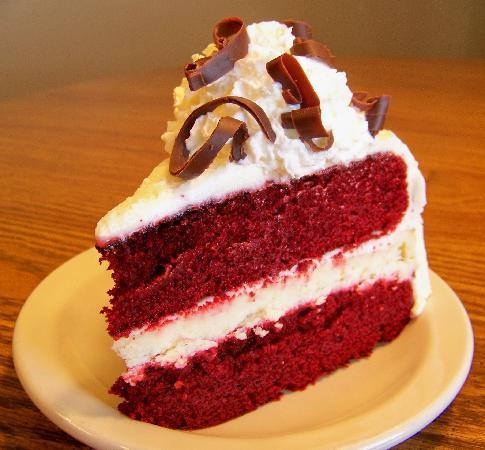 Sundance Cheesecake Cafe: Red Velvet Cheesecake