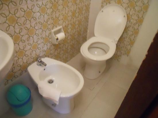 Hotel Arena: il mini bagno