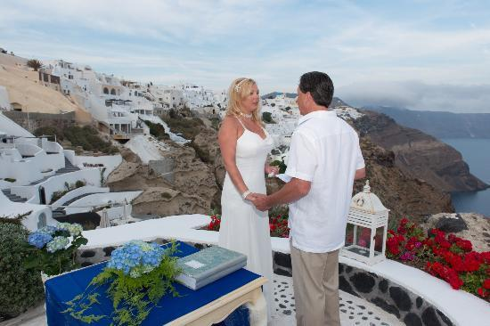 Andronis Luxury Suites: Vow renewal