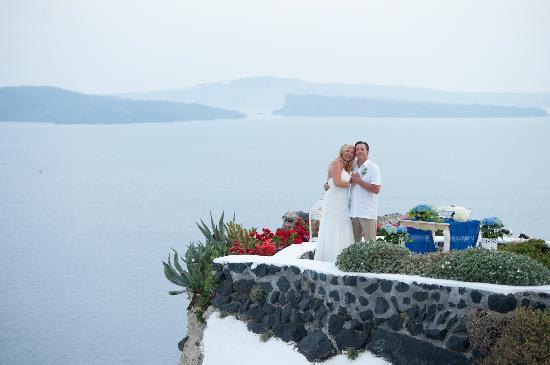 Andronis Luxury Suites: Wedding Vow renewal