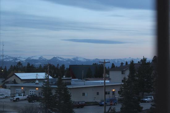 Holiday Inn West Yellowstone: view from room