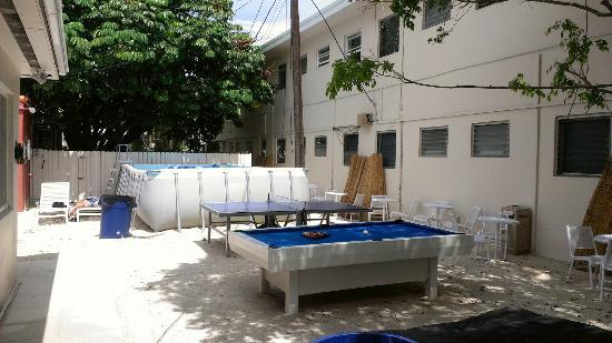 Pool Ping Pong And Pool Picture Of Bikini Hostel Cafe Beer Garden Miami Beach Tripadvisor