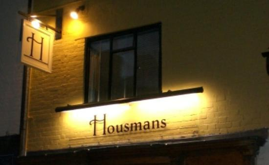 Housmans Restaurant & Bar: Relaxing evening at Housmans